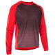 ION Traze_Amp - Maillot manches longues Homme - rouge/bleu